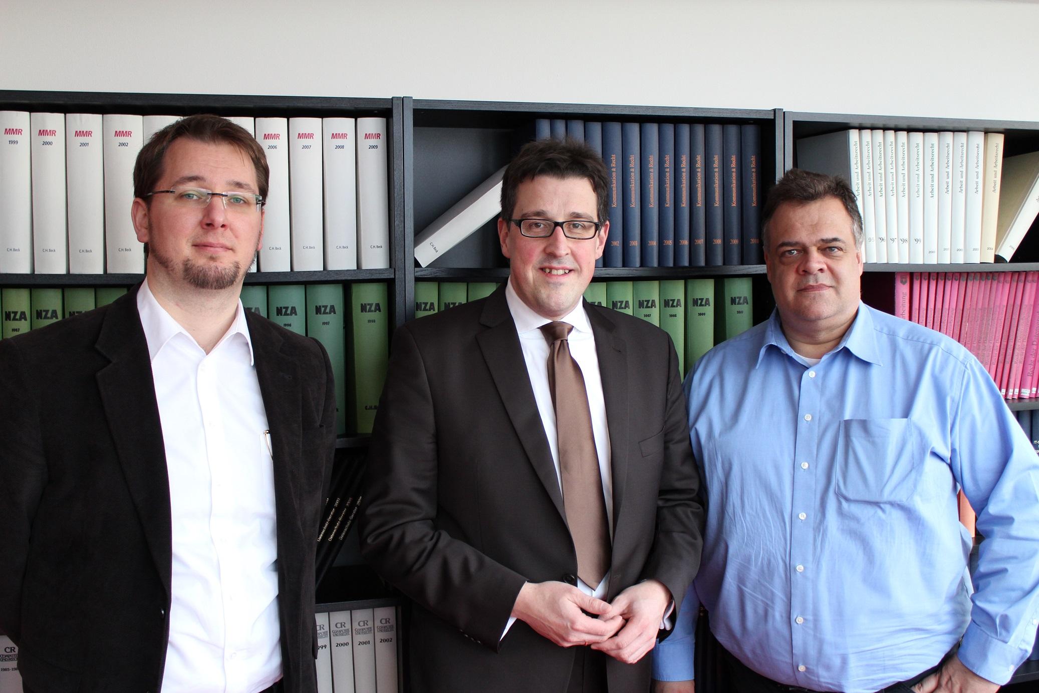 MdL René Schneider (SPD) in der GDD-Geschäftsstelle