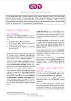 Cover GDD-Guidelines FDPA