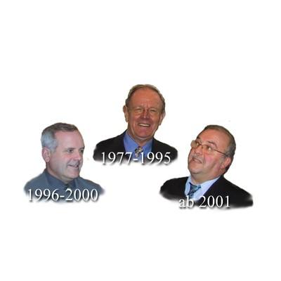 Die bisherigen Erfakreisleiter: Koch 1977-1995,  Völkle 1996-2000, Stampe ab 2001