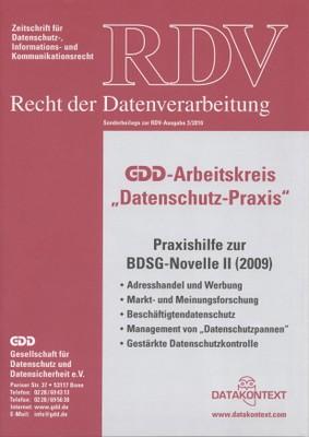BDSG-Novelle 2009